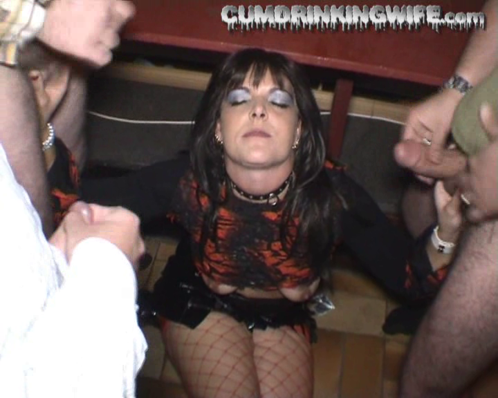 FreePornSiteRips.com - Amateur Swinger Cumslut Wife Marion Gangbanged By Bunch Of Strangers