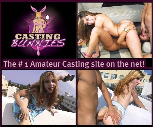 CastingBunnies.com SiteRip - Real Amateurs At Porn Castings