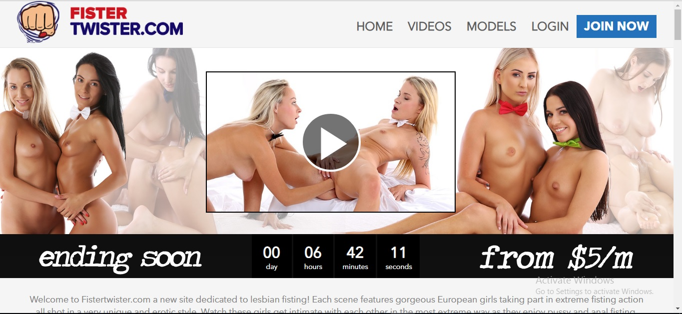 FisterTwister.com SiteRip - Lesbian Fisting Videos. Beautiful Girls Engaged In Lesbian Fisting, Anal Fisting, Strapon And Dildo Fucking