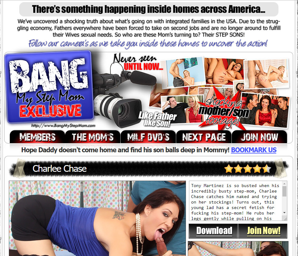 BangMyStepmom.com SiteRip - Lonely American Housewives Having Affairs With Their Own Stepsons While Their Unsuspecting Husbands Are At Work.