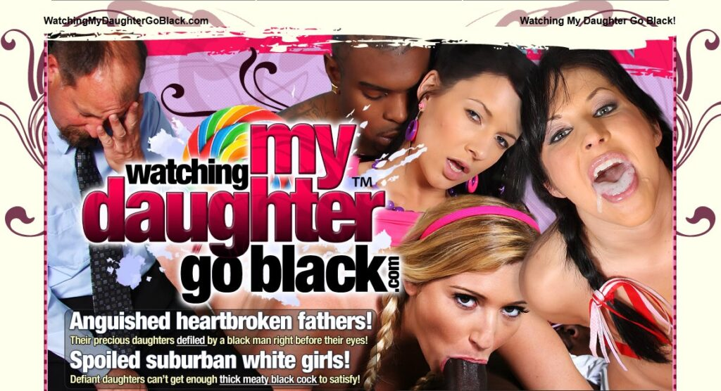 WatchingMyDaughterGoBlack.com SiteRip - Dads Forced To Watch Their Daughter Getting Fucked By BBC - FreePornSiteRips.com